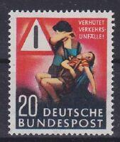 Bund Mi Nr. 162 ** TOP, Unfall Verhütung 1953, postfrisch, MNH
