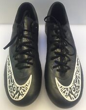 Nike Mercurial FG Soccer Cleats Youth Boys 4Y Custom NikeiD New 687945