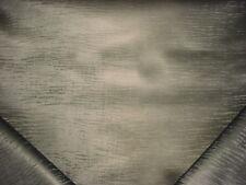 6-1/2Y Kravet Gunmetal Strie Lined Leatherette Vinyl Upholstery Fabric