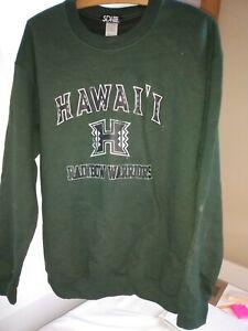 CollegeFanGear Hawaii Full Length Dark Green Apron University of Hawaii