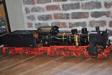 """3,5 """" Zoll Schlepptenderdampflok 38 Kohle gefeuert Live steam sehr schwer"""