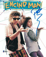 Pauly Shore Autographed/Signed Encino Man 8x10  Photo BAS 22671