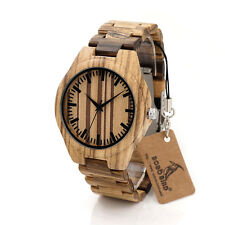 Bobo Bird 2017 Wood Watches Bamboo Wooded Woody Wristwatch Gifts