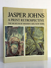 Jasper Johns A Print Retrospective. CASTLEMAN. MoMA New York. 1986. English book