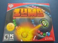 Zuma Pop Cap  PC CD ROM Computer Video Game 2003 Makers of Bejeweled