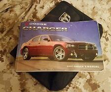 2007 07 Dodge charger owners manual mopar oem
