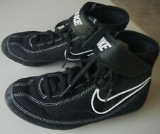 Nike Youth Speed Sweep Wrestling Shoes black Size 3Y Suede Mesh
