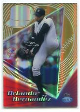 1999 Topps Tek Gold Pattern 14 40b Orlando Hernandez 2/10