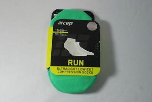 CEP Sportswear Dynamic+ Ultralight Low Socks Size III Mens Medium Lime/Green