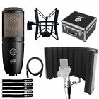 Professional Podcast Home Studio Vocal  Recording Condenser Microphone Mic Kit