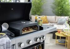 NEW Home BBQ Topper Pizza Oven, Inbuilt Thermometer & FREE Paddle - FREE P&P🚚