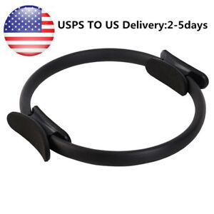 Home Pilates Ring Fitness Exercise Yoga Circle Body Trainer Tool