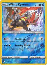 Pokemon SM Lost Thunder White Kyurem #63 Holo Rare Reverse Holofoil - Near Mint
