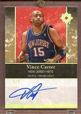 2006-07 UD Ultimate Vince Carter 2/5 Signed Ultimate Achievements AUTO Nets