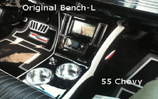 55 56 57 Chevy Bench seat console #2