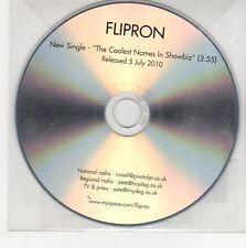(EG373) Flipron, The Coolest Names in Showbiz - 2010 DJ CD