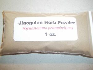 1 oz. Jiaogulan Herb Powder (Gynostemma pentaphyllum)
