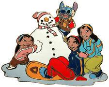 Disney Auctions Winter Fun Lilo & Stitch LE 100 Pin