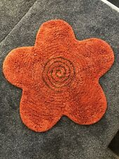 Faux Fur Flower Shaped Rug