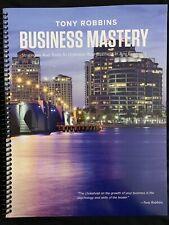 Tony Robbins Business Mastery event manual