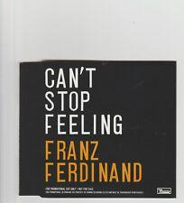 Franz Ferdinand- Can't Stop Feeling UK promo cd single.