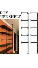 Fof Retro Wall Mount Iron Industrial Pipe Shelf