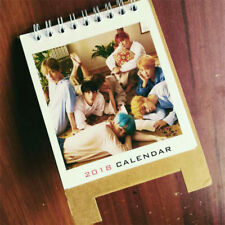KPOP BTS Love Yourself 2018 Mini Desk Calendar Bangtan Boys Picture Photo New