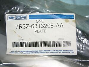 2007,2008,2009 SHELBY GT500 SVT DOOR SILL PLATE TRIM WITH SVT MUSTANG FORD OEM