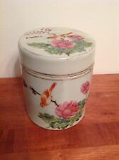 Antique Chinese Famille Rose Jar Vase Tongzhi or Guangxu c.1870