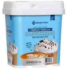 New listing Member's Mark French Vanilla Cappuccino Beverage Mix (48 oz.) Free Shipping
