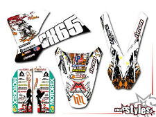 KTM SX 50 65 85 | 2001 - 2016 | Kid MX graffiti decoración Decals kit pegatinas Bud