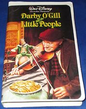 Disney DARBY O'GILL & the Little People (1992) WHITE Clamshell VHS ~Sean CONNERY