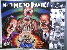 "NO TIME TO PANIC ! - LP + 7"" 1996 ITALY ONLY punk hc - NOFX SENZA BENZA DEROZER"