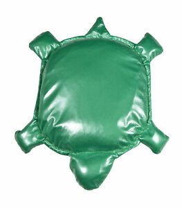 Abilitations Weighted Tote Turtle, Vinyl, Green