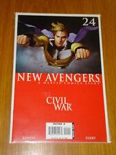 NEW AVENGERS #24 MARVEL COMIC NEAR MINT CIVIL WAR NOVEMBER 2006