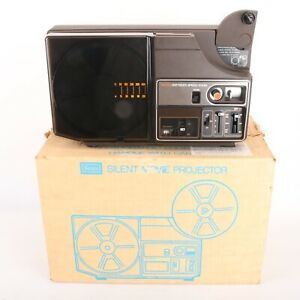 Sears 8mm Silent Movie Projector 237 Multi Speed Zoom AS IS