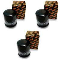 Volar Oil Filter - (3 pieces) for 2012 Yamaha Grizzly 450 YFM450 Auto EPS