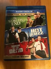Shaun of the Dead / Hot Fuzz / The Worlds End Blu-ray Simon Pegg Edgar Wright