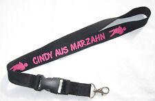 Cindy aus Marzahn Schlüsselband Lanyard NEU (T236)