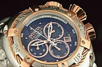 21342 56mm Invicta THUNDERBOLT Chrono Rose Gold Swiss Movt MOP Dial SS Watch NEW