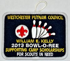 Westchester Putnam Council (NY) 2013 Bowl-O-Ree Pocket Patch  BSA
