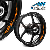 WSSB Rim Tape 17 inch Wheel Decal Sticker Set Orange For Honda CB 599 / CB600