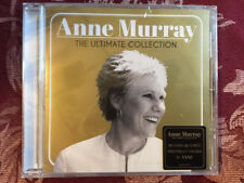 Anne Murray  cd the Ultimate Collection w/ signed cd booklet autographed