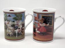 Boyd'S Bear Collector Mugs - Danbury Mint - Lot of Two