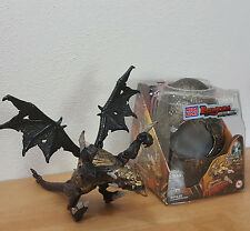 Mega Bloks Dragons Metal Ages Rutilus 9840 Gold Armor With Egg and Box Used