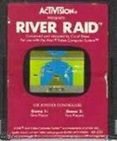 River Raid - Atari 2600 Game Authentic