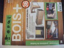 **a Revue Bois + n°36 Plan placard à portes coulissantes / meuble télé ajouré