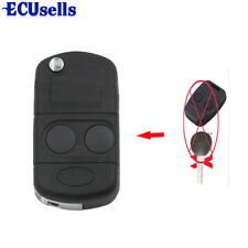 Fits Land Rover Freelander 2 Button Conversion Folding FOB Remote Key Shell Case