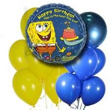 "Spongebob Squarepants Happy Birthday Foil 18"" Mylar Balloon Decoration Licensed"