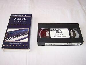 Kurzweil K2600 Training Manual VIDEO